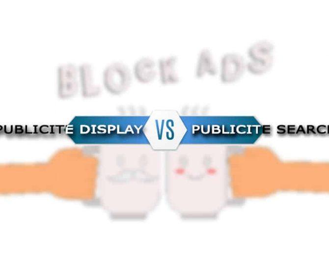 Publicité display vs publicité Search : laquelle permet un meilleur ROI?